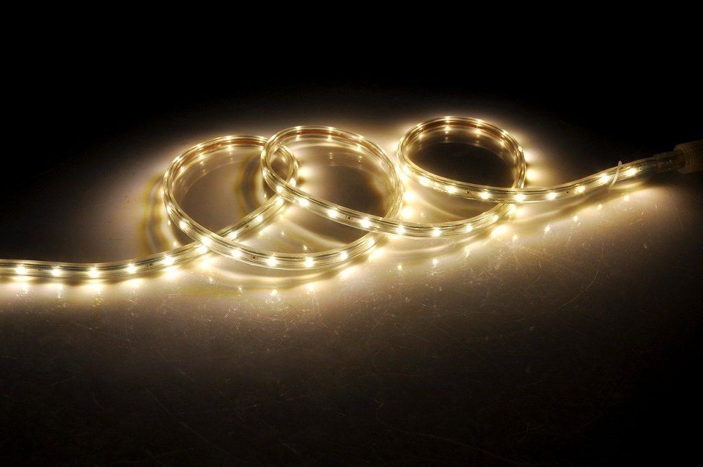 luces tiras led exteriores
